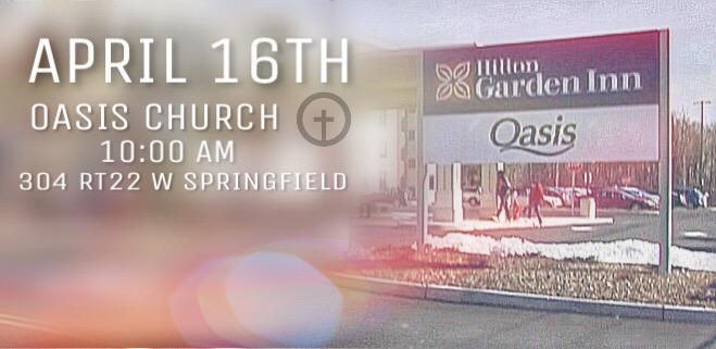 central NJ Easter Sunday Church Service