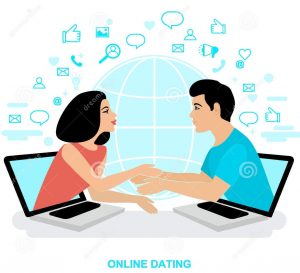 Finding a date online